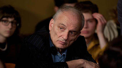 "Director David Chase on the set of ""Not Fade Away."""