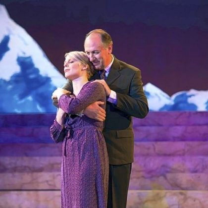 "Lara Hayhurst and Jeff Howell are Maria and Captain von Trapp in Pittsburgh Musical Theater's ""The Sound of Music."""