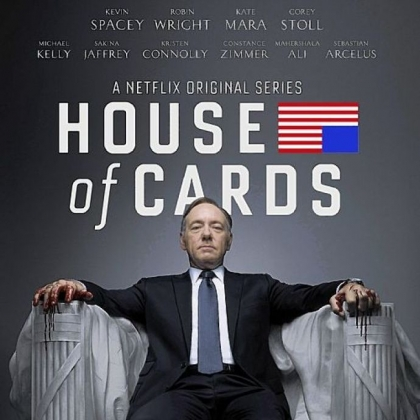 "Kevin Spacey stars as a duplicitous congressman in ""House of Cards."""