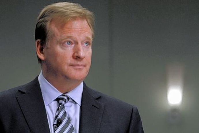 Roger Goodell's stance on hits is on the money