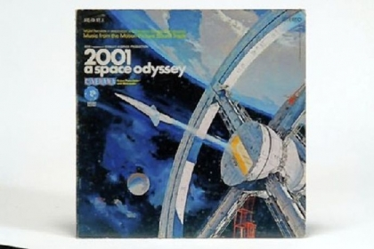 "Artifacts of 1968: the ""2001"" movie soundtrack."