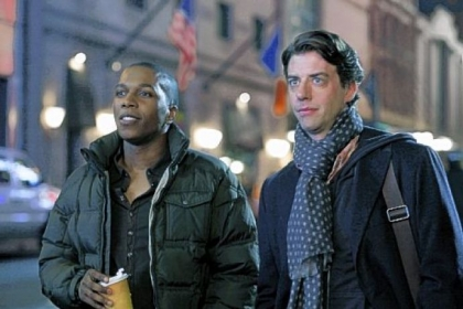 Leslie Odom Jr. (as Sam Strickland) and Christian Borle (as Tom Levitt) -- both Carnegie Mellon graduates -- play Broadway veterans in a romantic relationship in &quot;Smash.&quot;
