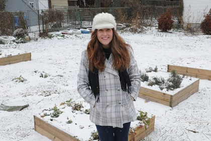 Deirdre Kane, a native of Upper Lawrenceville, is part of a new plan to transform McCandless Avenue into a green boulevard.