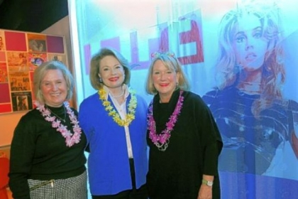 Kathy Testoni, Bev Elliott and Peggy Snavely.