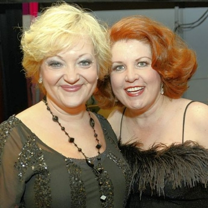 Maria Friedman and Klea Blackhurst.