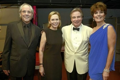 Robert Klein, Terre Hamlish, J. Ernest Green and Lucie Arnaz.