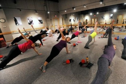 The new fitness craze Pure Barre in Shadyside.