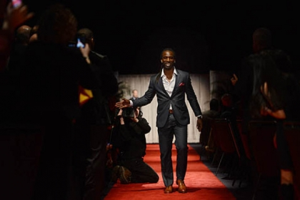 The Pirates' Andrew McCutchen walks the red carpet during the 77th annual Dapper Dan Dinner & Sports Auction at the David L. Lawrence Convention Center in Downtown Pittsburgh.
