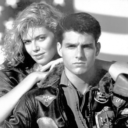 "Kelly McGillis and Tom Cruise star in the 1986 film ""Top Gun,"" which will be shown locally at AMC-Loews and Cinemark Tarentum."