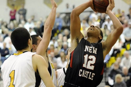 Shawn Anderson leads New Castle with 20 points per game.