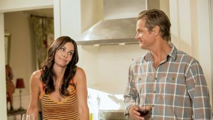 "After struggling on ABC, ""Cougar Town"" starts its fourth season Tuesday night on TBS, with Courteney Cox as Jules and Brian Van Holt as her ex-husband, Bobby."