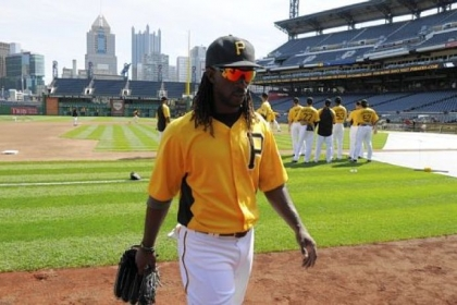 Pirates center fielder Andrew McCutchen.