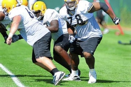 Max Starks was arguably the team&#039;s best lineman last season. But he is also likely to be gone before the team gets to Latrobe this summer.