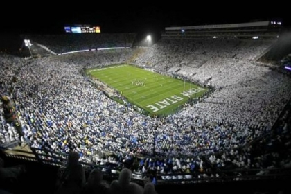 As part of the plan to pay for the $60 million penalty from the NCAA, Penn State has postponed some projects, including acquiring a new scoreboard at Beaver Stadium.