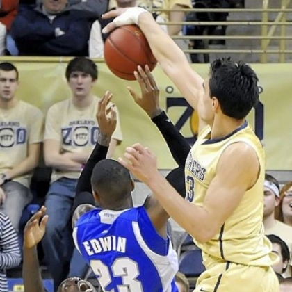 Pitt freshman big man Steven Adams has begun to come into his own for the Panthers offensively and defensively.