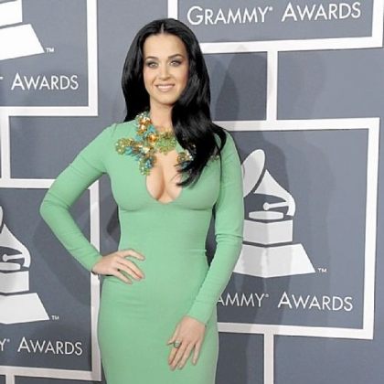 Katy Perry seemed a little overexposed at the 55th annual Grammy Awards.