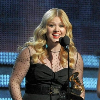 "Kelly Clarkson's ""Stonger"" was honored as best Pop Vocal Album."