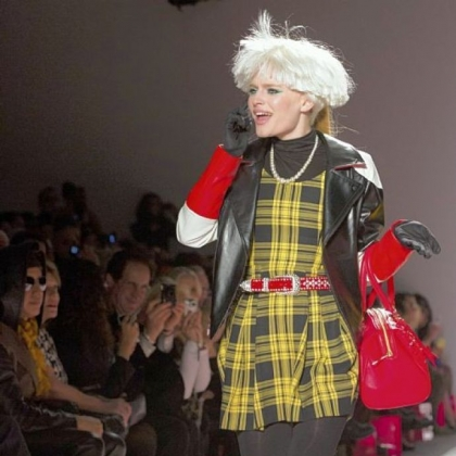 At the last minute, Betsey Johnson decided to present her fall collection.