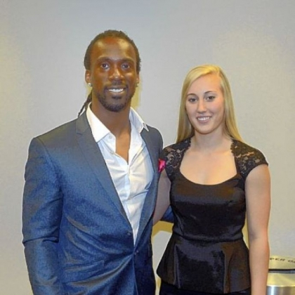 Andrew McCutchen and Taylor Schram.