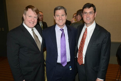 Rich Fitzgerald, Frank Coonelly and Bob Nutting.