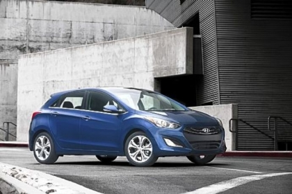 The 2013 Hyundai Elantra GT is pleasing to the eye and offers an air of sportiness, if not actual sportiness.