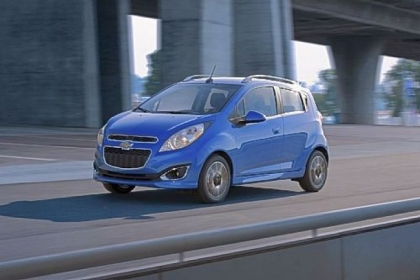 The 2013 Chevrolet Spark is a bit lethargic but a lot of fun.