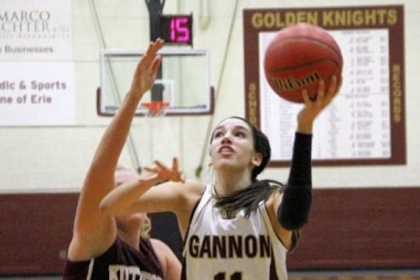 Jen Papich averages 12.7 points per game to lead Gannon in scoring.
