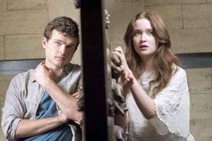 "Alden Ehrenreich portrays a teen mortal falling for a ""caster"" or a witch, played by Alice Englert, in the supernatural love story ""Beautiful Creatures,"" opening in theaters today."