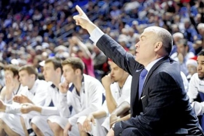 Penn State coach Patrick Chambers has thrown down a challenge to the student body to fill the Bryce Jordan Center for tonight's game vs. Iowa.