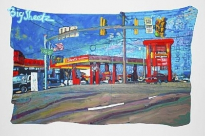 """Sheetz (Irwin)"" shows artist Kevin Kutz doesn't just focus on the past."