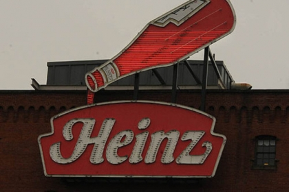 A Heinz sign, which originally hung on the North Side plant, now is at the Heinz History Center in the Strip District.