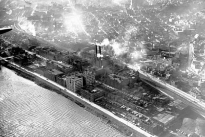 1948: An aerial view of H.J. Heinz Co.'s footprint on the North Side.