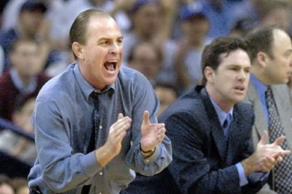 Ben Howland, left, and Jamie Dixon.