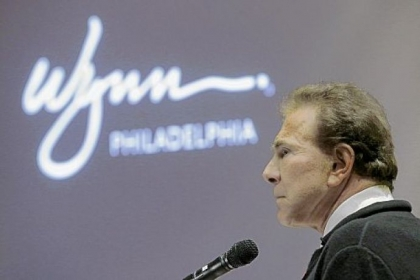Casino mogul Steve Wynn makes his pitch to the Pennsylvania Gaming Control Board for Philadelphia's second casino license during a public hearing at the Pennsylvania Convention Center on Tuesday.