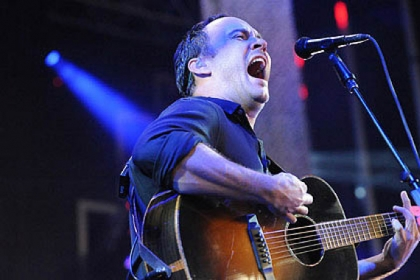 Dave Matthews Band at the Niagara Pavillion last year.