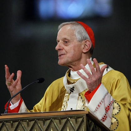 Cardinal Donald Wuerl, Archbishop of Washington, gives the homily during Easter Mass at the Basilica of the National Shrine of the Immaculate Conception Roman Catholic Church Sunday, April 24, 2011 in Washington.