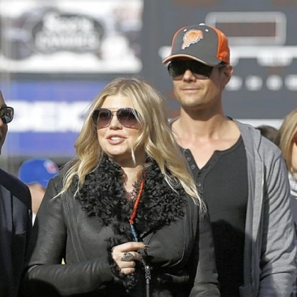 Singer Fergie of the Black Eyed Peas and her husband, actor Josh Duhamel, are expecting their first child.