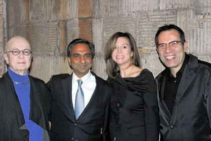 Barbara Luderowski, Anuj Dhanda, Anne Dhanda and Michael Olijnyk.