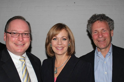 John Sheehan, Peggy Finnegan and John Verbanic.