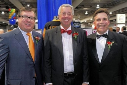 Tom Grealish, CPADA CEO John Putzier and Gregg Semel.