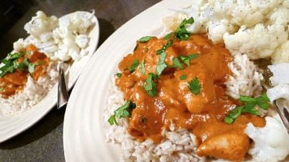 Edwardian Chicken Tikka Masala.