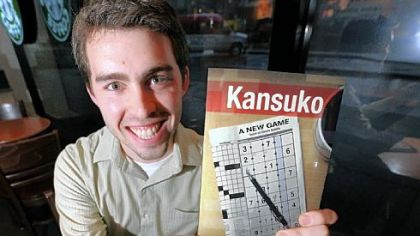 "Jonathan Meck's book, ""Kansuko: A New Game Based on Classic Sudoku,"" came out in October."