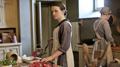 Sophie McShera as Daisy in Downton Abbey Season 3.
