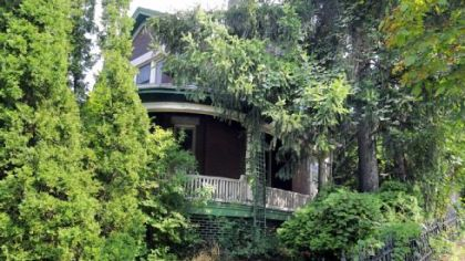 Becker House, a century-old historical landmark at 511 Romine Ave., McKeesport, is still on the market for $80,000.
