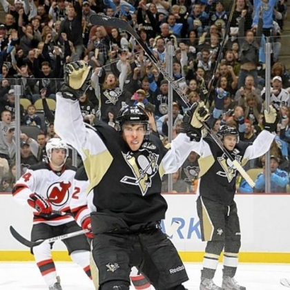 Sidney Crosby is playing as well as ever, and it&#039;s a big reason why the Penguins are in first place in the Atlantic Division.