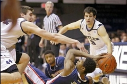 Dukes routed on road by No. 15 Butler