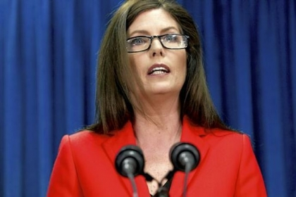 Kathleen Kane said her office had determined the lottery contract violates state law.