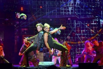 "Alex Nee as Johnny and Trent Saunders as St. Jimmy star in ""American Idiot,"" which had 422 performances on Broadway and featured songs by Green Day."