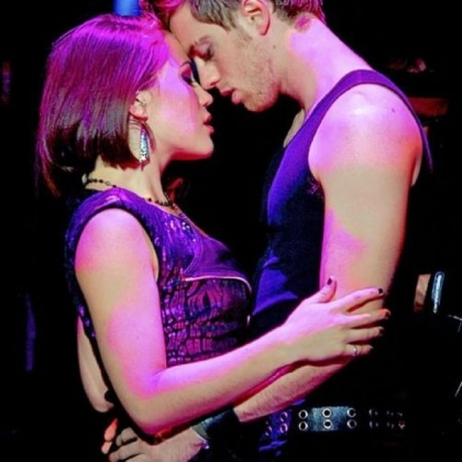 "Alyssa DiPalma and Alex Nee in ""American Idiot."""