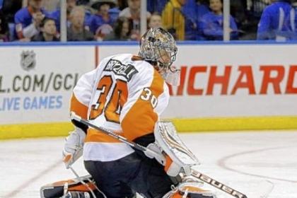 Flyers goalie Ilya Bryzgalov shut out the Islanders, 7-0, Monday -- the worst home shutout of the Islanders in their history. It was also the 30th shutout of Bryzgalov's career.